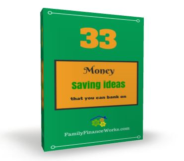 33 Money Saving Ideas Book